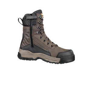 "Carhartt Men's Force 8"" With Zipper Work Boot Brown 