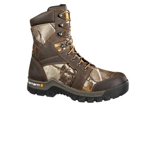 "Carhartt Men's Work Flex 8"" Insulated Work Boot Brown Camo 