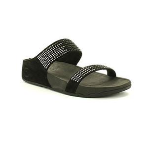 Fitflop Women's Flare Slide Black | Fitflop 300-001 Black