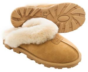 UGG Coquette Chestnut Ladies Slippers | UGG 5125 Coquette Chestnut