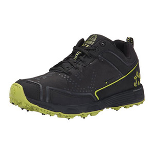 Icebug Men's DTS2 BUGrip Outdoor Shoe Black/Poison