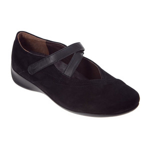 Wolky Women's Passion Mary Jane | Wolky 350400 Black Suede