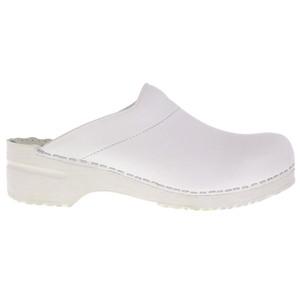 Sanita Men's Original Karl Open Back Clog White | Sanita 1500050 White