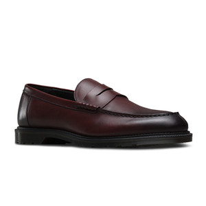 Dr Martens Men's Penton Loafer Cherry Red | Docs 21160600 Cherry Red