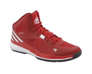 Adidas Men's Crazy Strike Basketball Shoes Scarlet/White