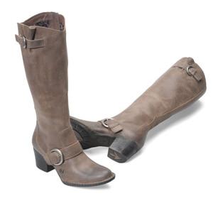 Born Shaylee Grey Ladies Boots