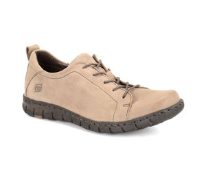 Born Women's Kester Leather Sneaker Taupe