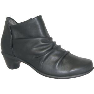 Naot Advance Black Combo Ladies Ankle Booties | Naot 44022 280 Black Combo