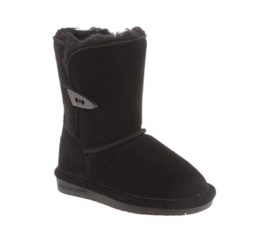 Bearpaw Girls Abigail Youth Boot Black