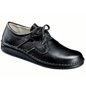 Finn Comfort Men's Vaasar Oxford Black Nappa