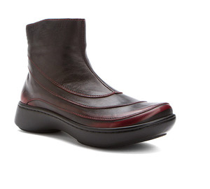 Naot Women's Tellin Ankle Boot Volcanic Red | Naot 25025 C21 Volcanic Red