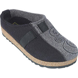 Haflinger Two Tone Grizzly Blk/Grey