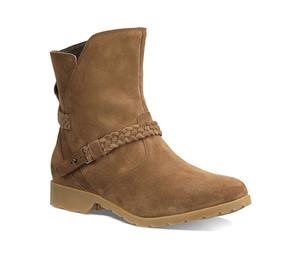Teva Women's De La Vina Low Suede Boot Bison