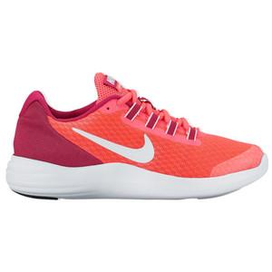 Nike Girl's LunarConverge Athletic Shoe Pink/Fuchsia