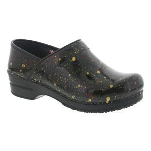 Sanita Women's Smart Step Professional Speckle Clog Multicolor Patent | Sanita 456246 Multicolor