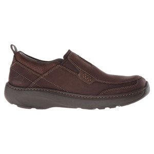 Clarks Men's Charton Step Slip On Brown Nubuck | Clarks 21312 Brown Nubuck