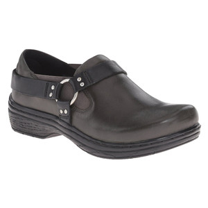 Klogs Women's Harley Clog Slate Smooth Leather