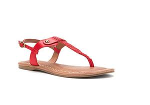Corso Como Women's Bronte Thong Sandal Scarlet