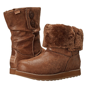 Skechers Women's Keepsakes Leatheresque Boot Chestnut