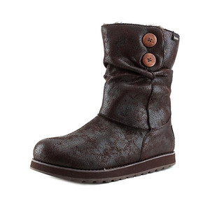 Skechers Women's Keepsakes Leatheresque Boot Chocolate