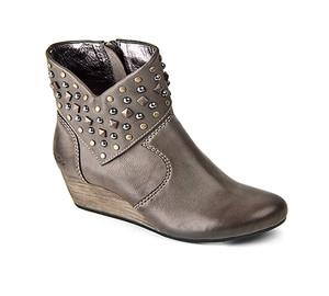 Taos Women's Verge Wedge Bootie Grey | Taos VER 12743 Grey