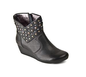 Taos Women's Verge Wedge Bootie Black | Taos VER 12743 Black