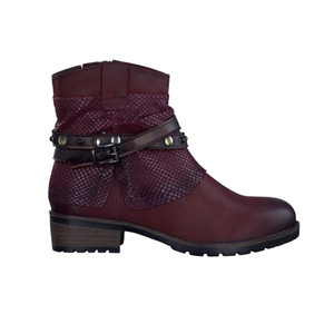 Tamaris Women's 25311 Boot Bordeaux Combo