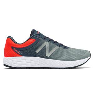 New Balance Men's MBORAGO3 Running Shoe Thunder/Alpha Orange