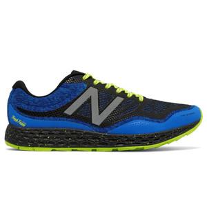 New Balance Men's MTGOBIBY Trail Runner Electric Blue/Hi Lite