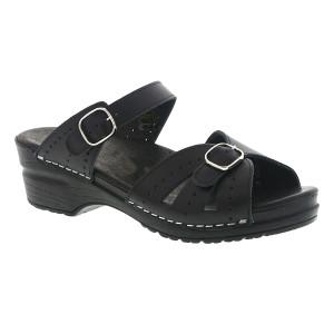 Sanita Women's Joplin Slide Black | Sanita 455329 Black
