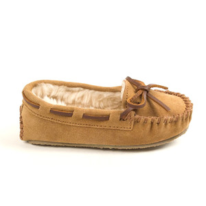 Minnetonka Kid's Cassie Slipper Cinnamon | Minnetonka 4811 CIN