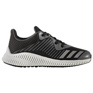 Adidas Boy's FortaRun Athletic Shoe Black/Onix | Adidas BA9494 Black/Onix