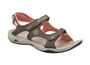 Columbia Women's Suntech Vent Sandals Mud/Sorbet