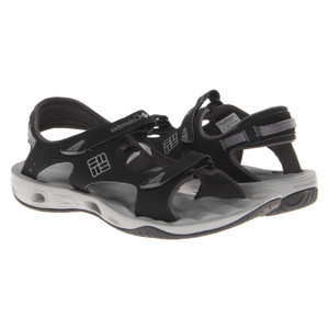 Columbia Women's Suntech Vent Sandals Black/Platinum