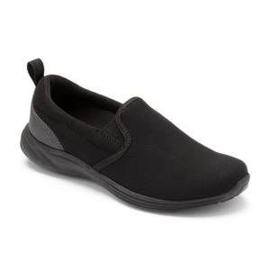 Vionic Women's Agile Kea Slip On Black/Black | Vionic Agile Kea Black/Black