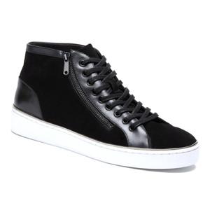 Vionic Women's Splendid Torri Zip Lace Up Fashion Sneaker Black