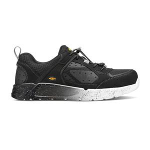 Keen Men's Raleigh Aluminum Toe Work Shoe Black/Raven
