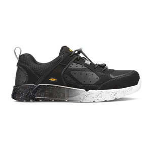 Keen Men's Raleigh Aluminum Toe Work Shoe Black/Raven | Keen 1016971 Black/Raven