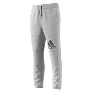 Adidas Men's Spodnie SPTID Jersey Pant Medium Grey Heather