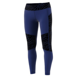 Adidas Women's Designed 2 Move Digicraft-Print Mid Rise Long Tight Mystery Ink/Print | Adidas BQ9840 Mystery Ink/Print