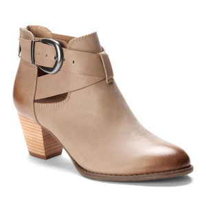 Vionic Women's Upright Rory Ankle Boot Taupe