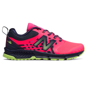 New Balance Girl's KTNTRASY Athletic Shoe Pink/Lime