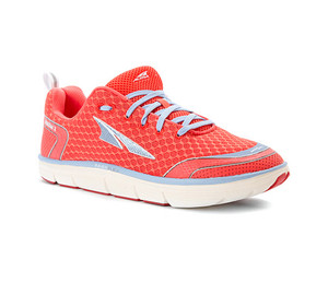 Altra Women's Intuition 3 Running Shoe Coral/Blue | Altra A2533-2 Coral/Blue