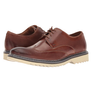 Rockport Men's Jaxson Wingtip Brown Leather