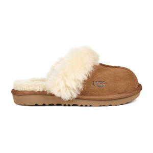 UGG Girls Kids Cozy II Slipper Chestnut | UGG 1019065K CHE