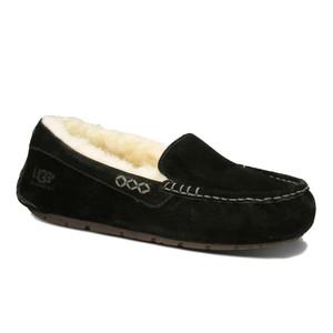UGG Ansley Slippers Black Ladies | UGG 3312 Black