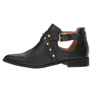 Corso Como Women's Doon Bootie Black Burnished Calf