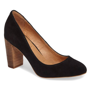 Corso Como Women's Anya 2.0 Pump Black Kid Suede