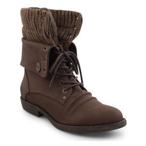 Blowfish Womens's Alexi Boots Chocolate Saddle