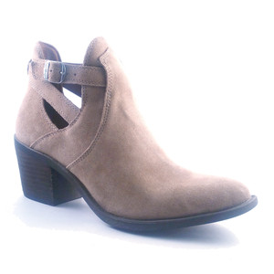 Lucky Brand Women's Nandita Ankle Bootie Dark Travertine